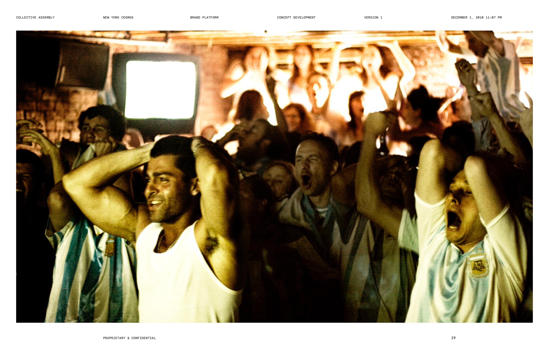 New York Cosmos / Cantona