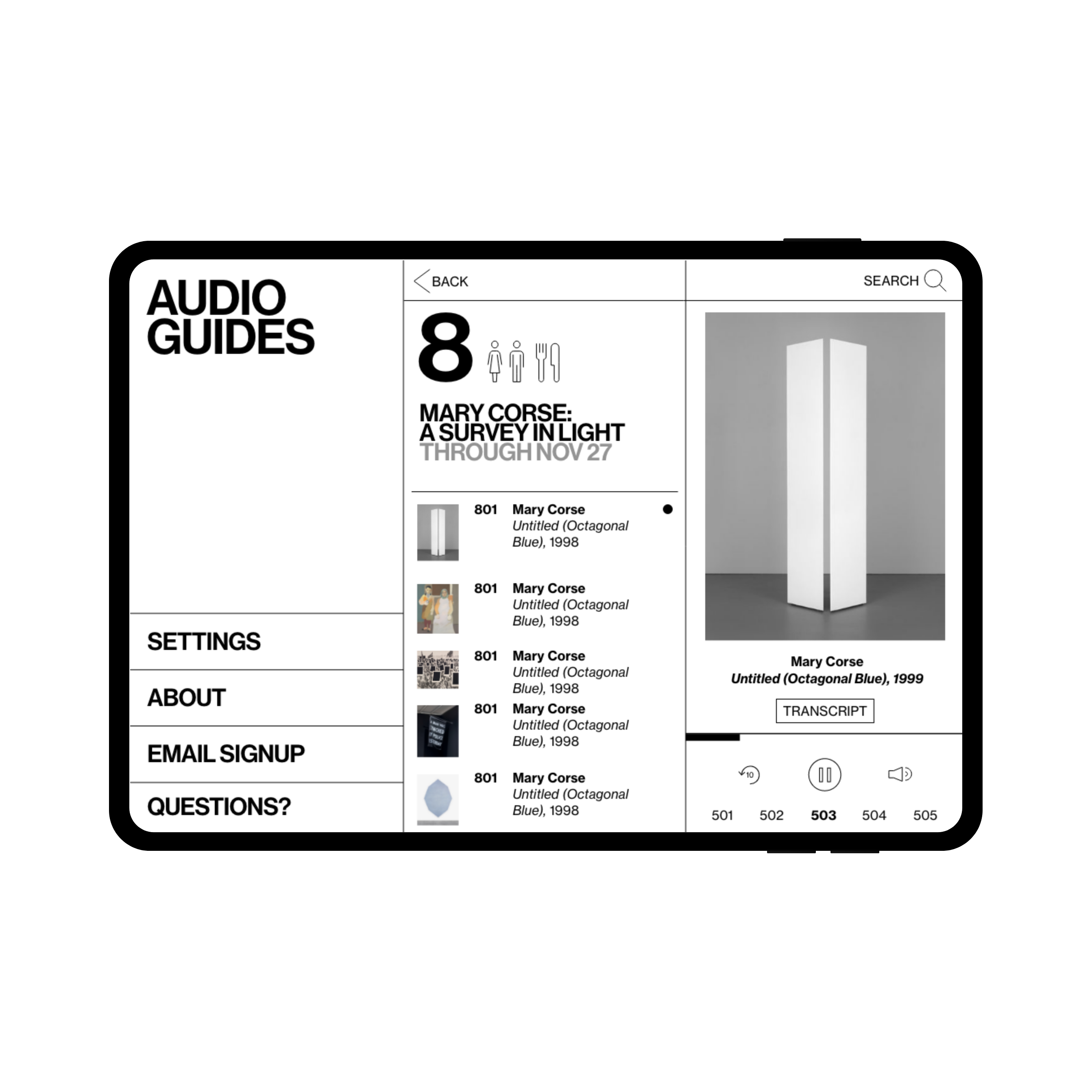 Whitney Museum of American Art / Mobile Guide
